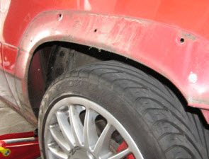 Roest oplosser auto